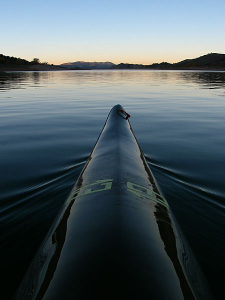 kayak Horsetooth Reservoir, Colorado