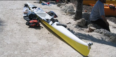 Huki S1-X surfski - touring version