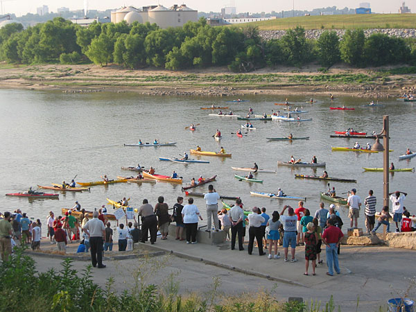 Missouri River 340 Race at Kaw Point