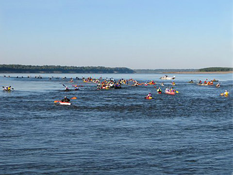 Phatwater Race. Mississippi River