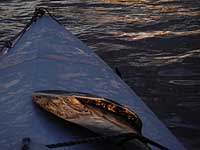 icy Sea Wind canoe on South Platte River