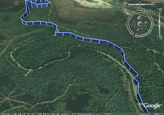 Guadelupe River GPS track